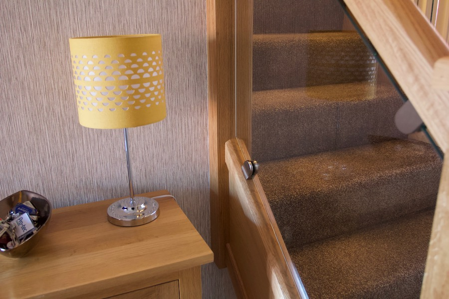 """Let in the Light"" Contemporary staircase installation in Hinckley"