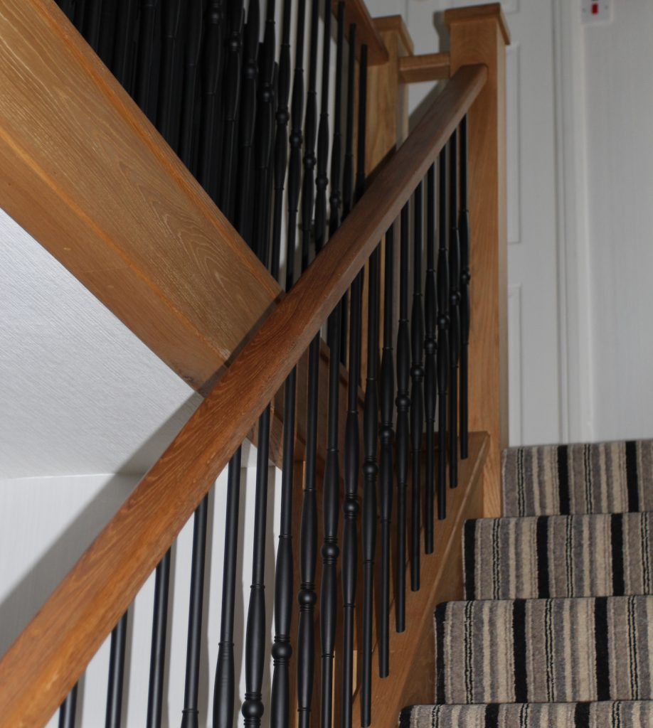 A challenging staircase in Stoke Golding