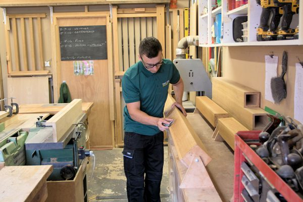 Nathan in the workshop 1